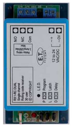 ET 1 channel code hopping receiver